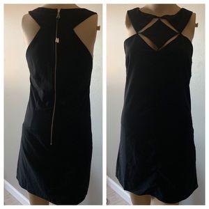 NWOT Dainty Hooligan Unique black Dress Size Med